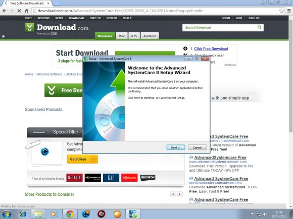 advanced systemcare free download cnet